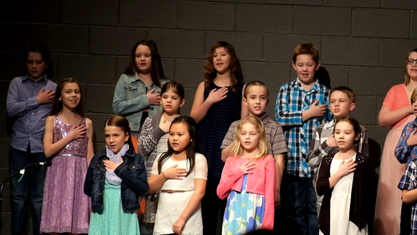 Spring Concert 2017 - Fourth Graders