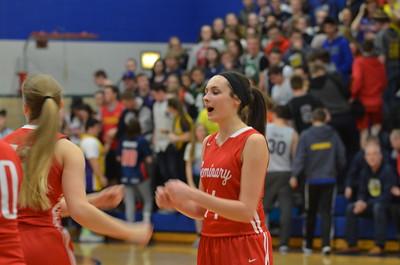 Varsity Girls' Basketball vs Valley Lutheran (District Final)