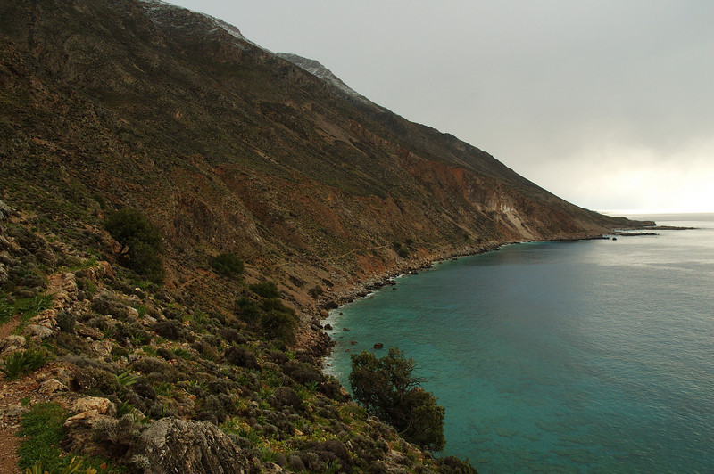 An easy coast path