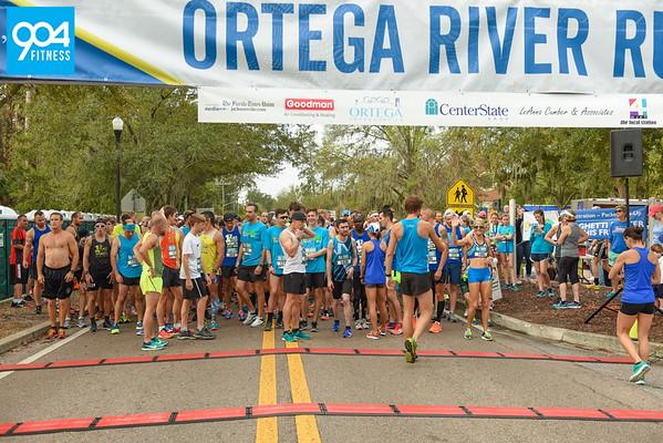 Ortega River Run Start 2017