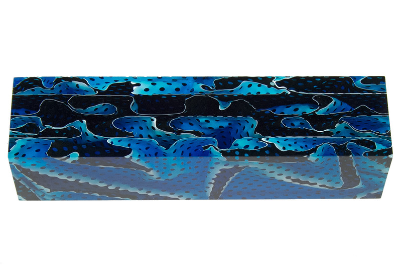 Blue Topaz Water Mesh