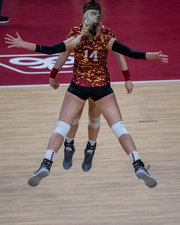 ISU Volleyball vs WVU 11/10/18