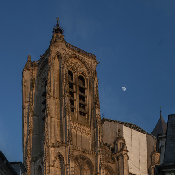 Bourges, Saint Stephen Cathedral North Tower
