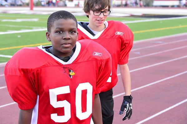 7th Grade Football 10-30-2014