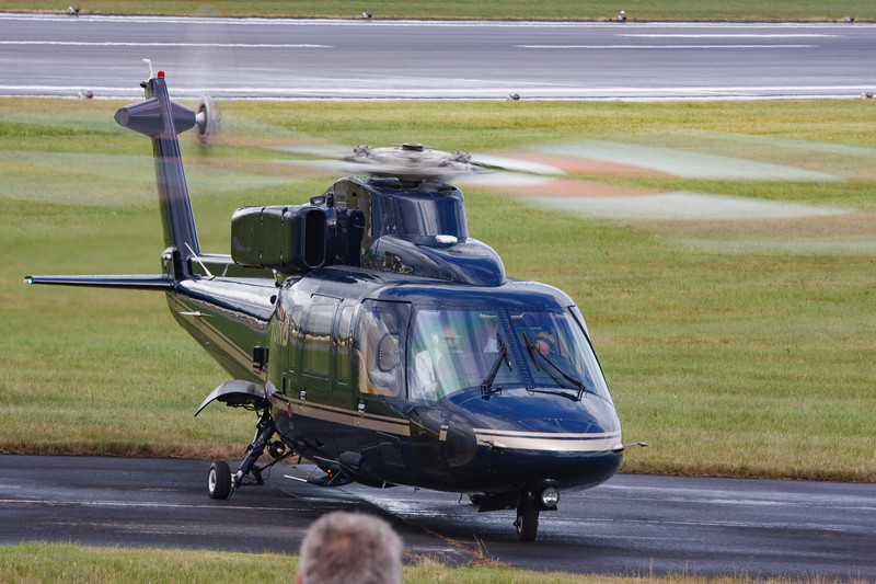 2008, C/N 76-0399, G-VONB, HM Queen Elizabeth II, Helicopter, RIAT 2008, Royal Flight, S-76B, Sikorsky - 11/07/2008@15:08