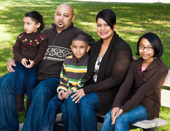 Lisa, Jeremie and Family