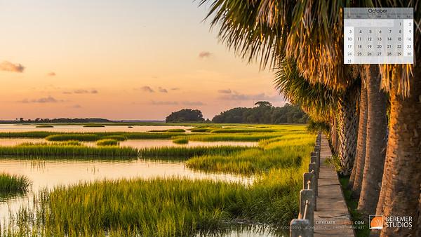 2021 Coastal Comforts Calendar