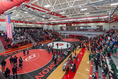 High School Wrestling - 2/9/2019 Districts