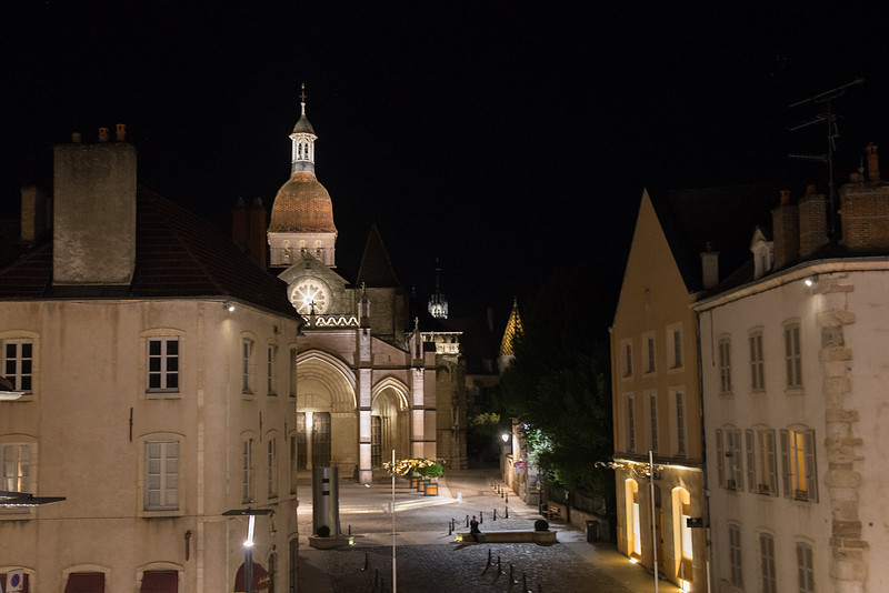View from room in Beaune