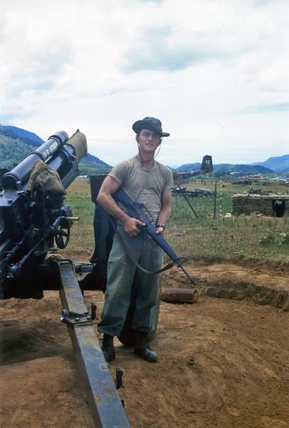 """D"" Battery Vietnam 1968 Don Babcock Photos"
