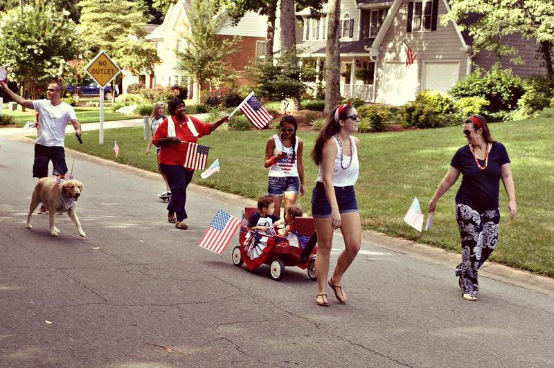 Brookstone 1 HOA 4th of July Parade