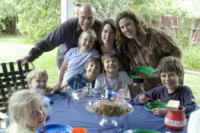 Scott, Maria and family