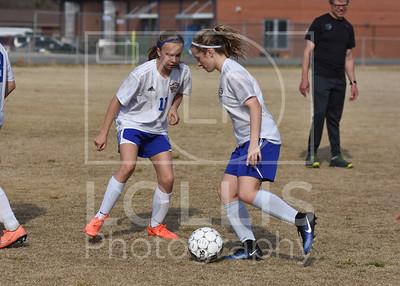 Pickens at Wren Girls Soccer 3-20-17