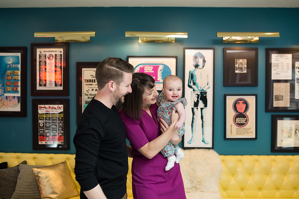 Donaway Family Verb Hotel Portraits