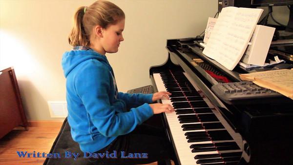 Nicole On Piano
