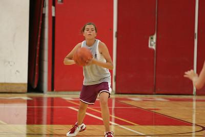 Girls Junior Varsity Basketball  - 2006-2007 -  8/14/2006 First Day of Season