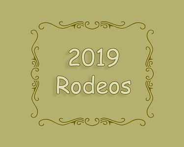 2019 Rodeos