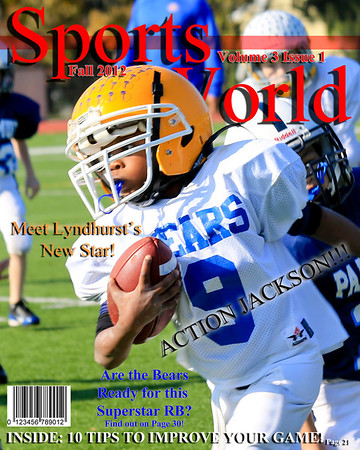 2012 Football Magazine Covers