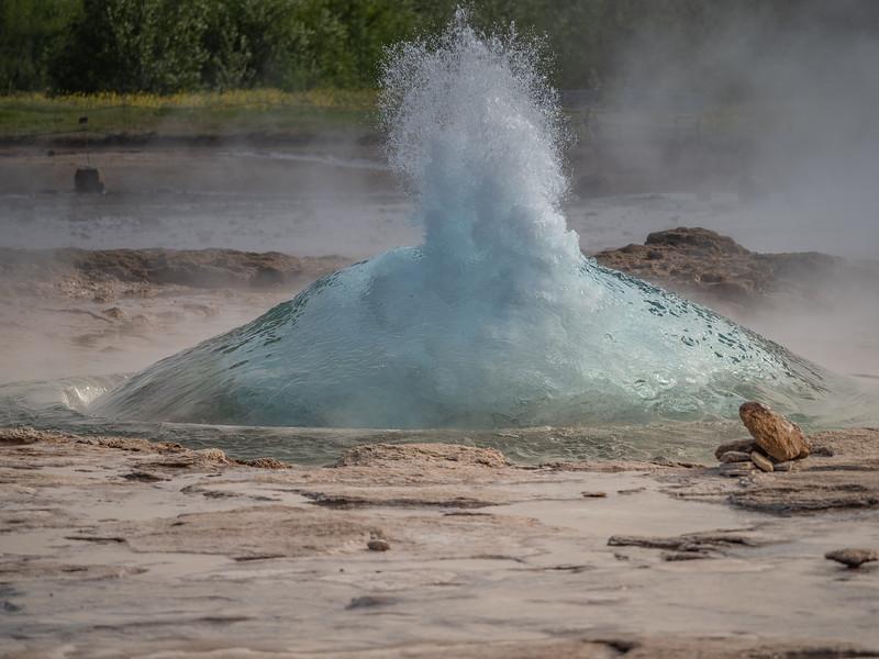 Iceland Geyser     Photography by Wayne Heim