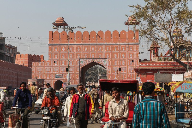 One of the gates to the city.