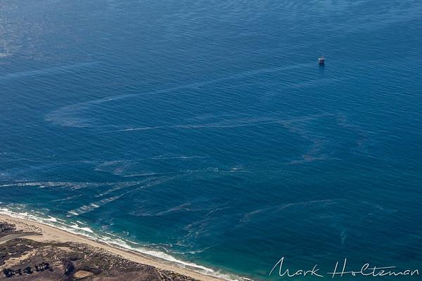 Goleta Oil Rig Oil Spill