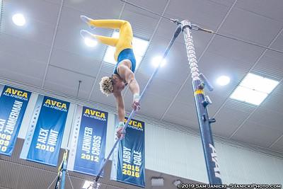 High Bar - UM Men's Gymnastics Vs UIC 3-30-19