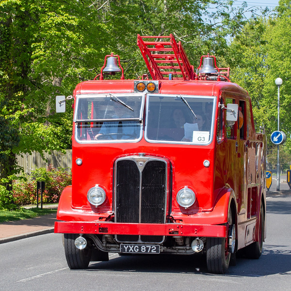 YXG872 1950 AEC Regent III fire engine
