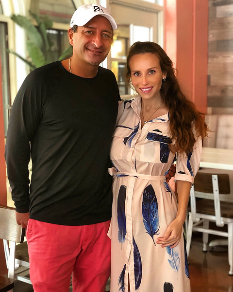 Paul Ardaji Jr & Samantha Marulli, co-owners of Patria Cafe, located at 319 Clematis St., Suite 101, West Palm Beach, FL. [Photo provided by Amy Arellano]