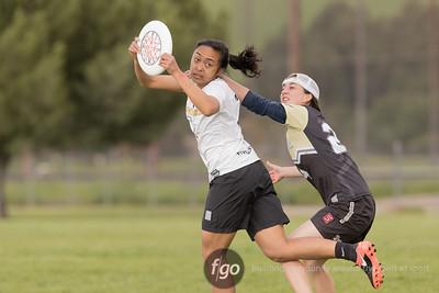 3-4-17 - Colorado Kali v British Columbia Thunderbirds Women's Division at Stanford Invite