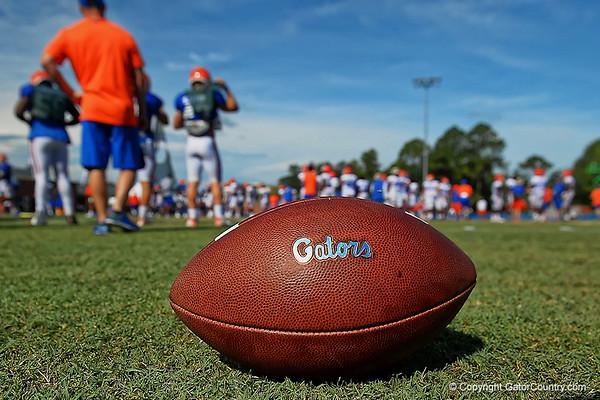 Florida Gators Football Fall Practice 8-11-2018