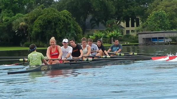 2013 Summer Rowing