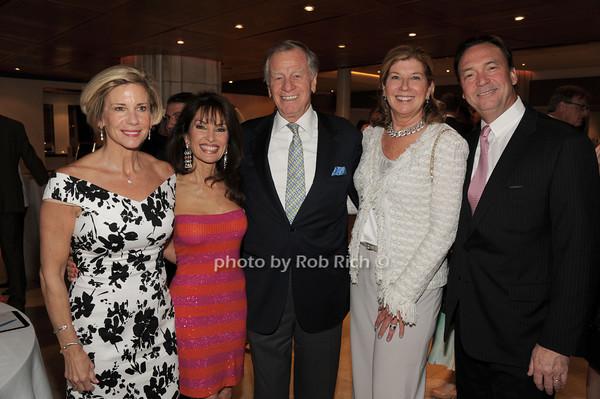 Donna .O'Connor, Susan Lucci, Helmut Huber, Mary Ellen Finnerty, Kevin Finnerty   photo  by Rob Rich © 2014 robwayne1@aol.com 516-676-3939
