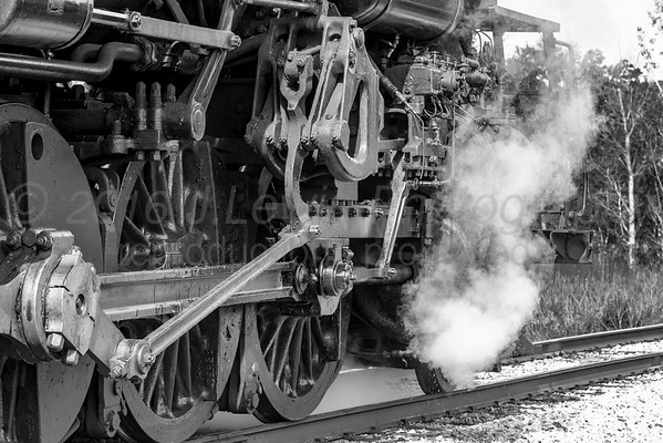 Pere Marquette Railway Steam Locomotive No. 1225
