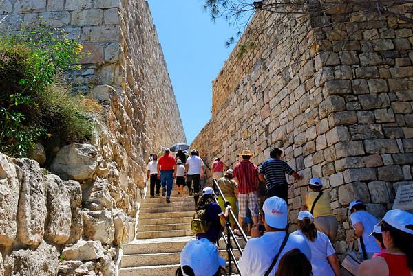 Jerusalem - O Cenáculo e o Túmulo de David