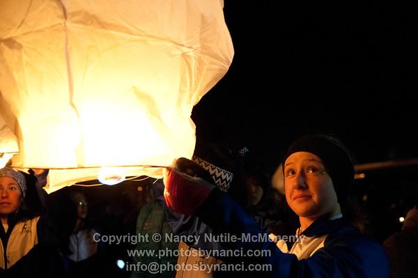 SOS Paper Lanterns