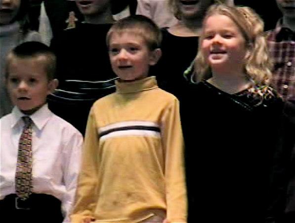 Tess 1st Grade Christmas Concert