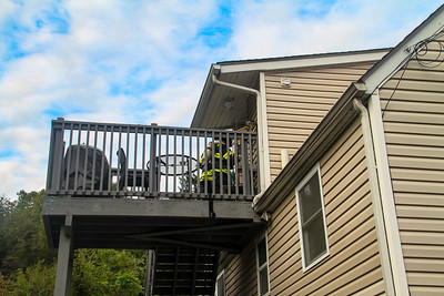 9-30-18 CO Alarm With Readings, Albany Post Road, Photos By Bob Rimm