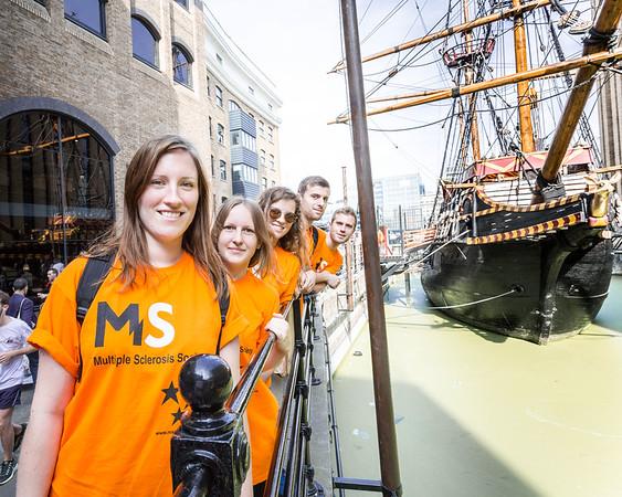 MS Society Thames Pathway 10km / 20km Walk 2014