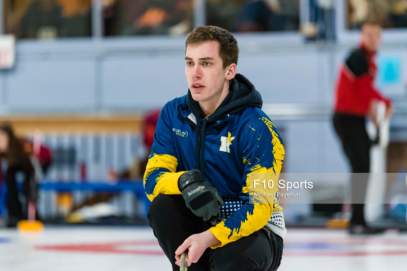 TORONTO, CANADA - Jan 04: during Humber Cup Curling Bonspiel at East York Curling Club. Photo: Michael Fayehun/F10 Sports Photography