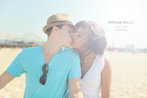RAVAYNA + DAVID | SANTA MONICA ENGAGEMENT SESSION
