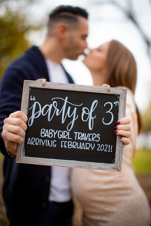 Samantha & Michael Announcement Photos