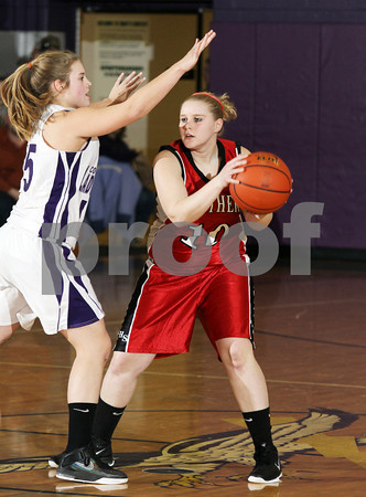 2012 Austin Girls Basketball @ Coudersport