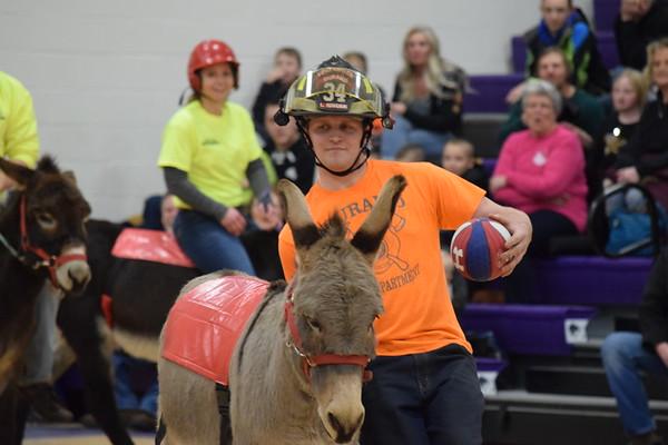 Durand FFA Donkey Basketball , Jan. 19, 2019