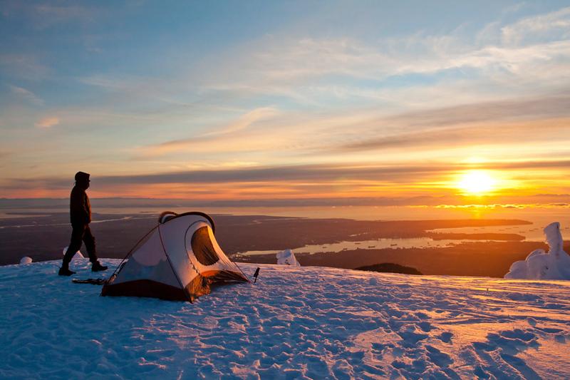 Winter Alpine Camping