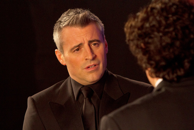 ". This image released by Showtime shows Matt LeBlanc as himself in a scene from ""Episodes.\"" LeBlanc was nominated for a Golden Globe for best actor in a comedy series, Thursday, Dec. 13, 2012, for his role in \""Episodes.\"" The series is also up for an award for best comedy. (AP Photo/Showtime, Jack Barnes)"
