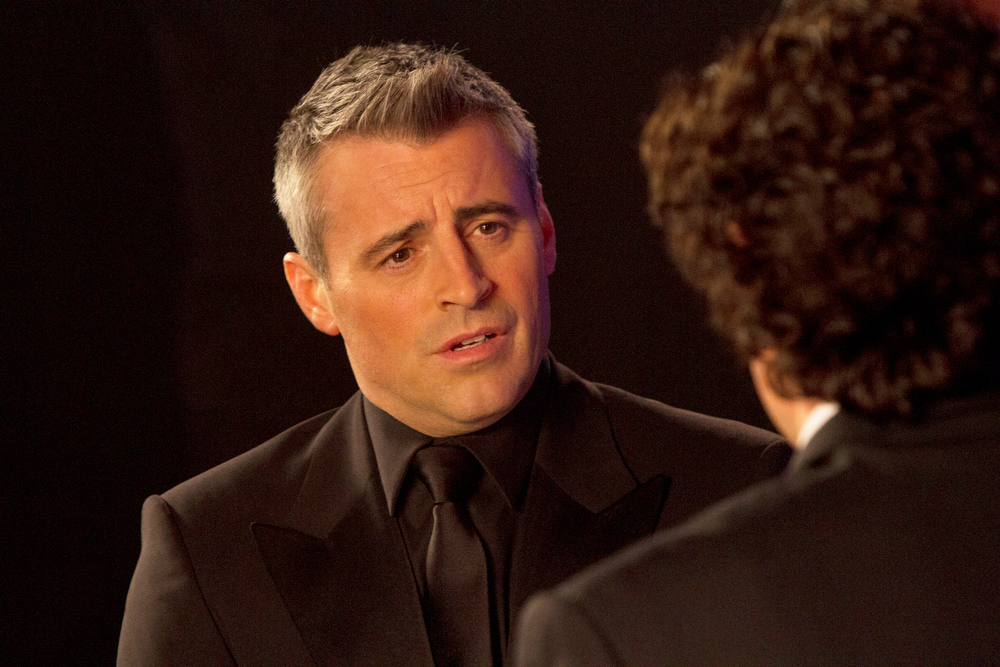 Description of . This image released by Showtime shows Matt LeBlanc as himself in a scene from