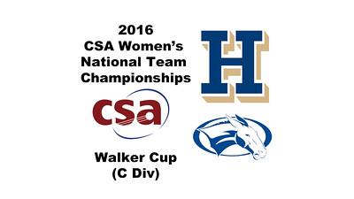 2016 0c CSA Team Championship Videos
