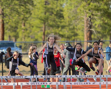 Outlaw Middle School Track 2018