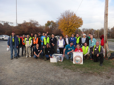 11.15.13 Final Tree Maintenance & Invasives Removal Along Herbert Run at UMBC Grounds off Shelbourne Ave