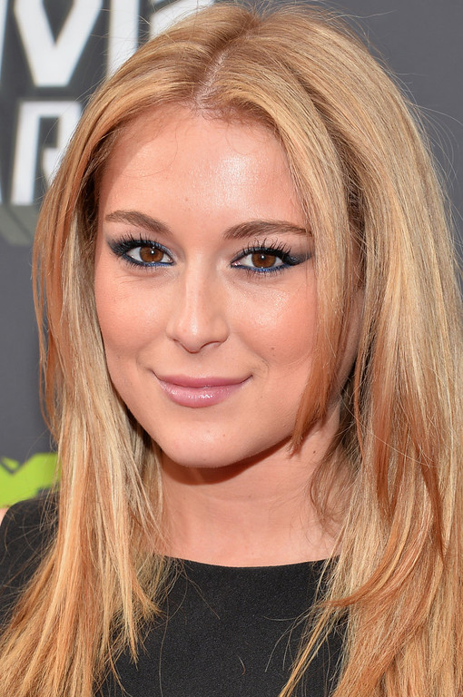 . Actress Alexa Vega arrives at the 2013 MTV Movie Awards at Sony Pictures Studios on April 14, 2013 in Culver City, California.  (Photo by Alberto E. Rodriguez/Getty Images)